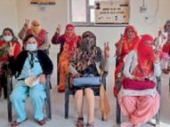 चौथे दिन टीका लगवाने वालों में 88 प्रतिशत महिलाएं, मंड्रेला में शत-प्रतिशत टीकाकरण|झुंझुनूं,Jhunjhunu - Dainik Bhaskar