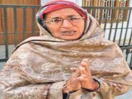 वृद्धा का आरोप-बेटों ने निकाला, थाने पहुंची तो एसएचओ ने थप्पड़ मारा|अलवर,Alwar - Dainik Bhaskar