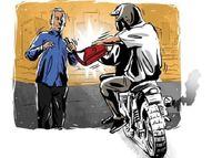 बदमाशों ने पेट्रोलपंप के सेल्समैन को चाकू दिखाकर छीने 10 हजार रुपए|सूरौठ,Suronth - Dainik Bhaskar
