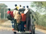 कोटपूतली क्षेत्र में हर रोज 2 सड़क हादसे, पिछले साल 122 लोगों ने गंवाई जान|कोटपूतली,Kotputali - Dainik Bhaskar