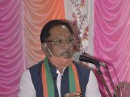 प्रदेश अध्यक्ष साय ने कहा- 250 से अधिक किसानों ने खुदकुशी की, इन्हें 25-25 लाख मुआवजा दे छत्तीसगढ़ सरकार|रायपुर,Raipur - Dainik Bhaskar