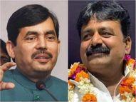 चैनपुर के खान JDU में जमा होते ही दागी निकले, BJP ने अपने 'शाह' को 'नवाज' बताया|पटना,Patna - Dainik Bhaskar