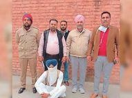 पूर्व अकाली सरपंच अफीम, भुक्की और 2 हजार नशीली गोलियों के साथ गिरफ्तार|बठिंडा,Bathinda - Dainik Bhaskar