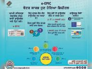 घर बैठे ले सकेंगे ई-वोटर आई कार्ड, वोटर डे पर लांच होगा ई-ईपिंग|बठिंडा,Bathinda - Dainik Bhaskar