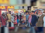 एक पहल संस्था ने किया कंबल वितरण|होशंगाबाद,Hoshangabad - Dainik Bhaskar
