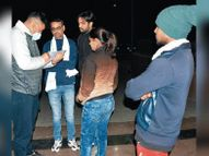 स्कूटी सवार महिला को कनपटी पर मारी गोली, पुलिस को सुपारी किलिंग का शक|रोहतक,Rohtak - Dainik Bhaskar