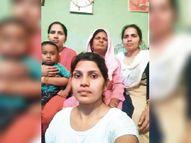 पति की मौत के बाद भी नहीं टूटा हौसला, सावित्री देवी ने 4 बेटियों को बनाया आत्मनिर्भर|रोहतक,Rohtak - Dainik Bhaskar
