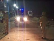 50 से अधिक संदिग्ध युवकों को हिरासत में लिया गया, बिना कागजात की 12 बाइक भी बरामद|जयपुर,Jaipur - Dainik Bhaskar