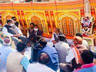 गुलाबचंद कटारिया ने प्रदेश सरकार पर साधा निशाना, कहा 2 साल में नहीं हुआ पूरा एक भी वादा|उदयपुर,Udaipur - Dainik Bhaskar