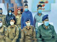 अपराधी सुधीर दुबे के पांच गुर्गों ने गोलमुरी के क्रशर संचालक को दी थी धमकी, तीन गिरफ्तार; सीसीटीवी फुटेज से मामले का खुलासा|जमशेदपुर,Jamshedpur - Dainik Bhaskar