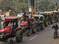 टीकरी, सिंघु और गाजीपुर बॉर्डर पर 30 हजार ट्रैक्टर पहुंचे; बैरिकेड हटाए जा रहे, एक ट्रैक्टर पर तीन लोगों को ही इजाजत|ओरिजिनल,DB Original - Dainik Bhaskar
