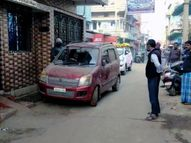 कार्रवाई के लिए पहुंची पुलिस पर आरोपियों ने तोड़फोड़ का आरोप लगाया, पुलिस ने कहा- उन्होंने बदतमीजी की|जमशेदपुर,Jamshedpur - Dainik Bhaskar