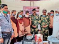 देश की सुरक्षा का आधार स्तम्भ है बीएसएफ, स्थानीय नागरिक भी करें सहयोग: डीआईजी बाड़मेर,Barmer - Dainik Bhaskar