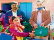 बच्चों में कुपोषण दूर करने आंगनबाड़ी पर बनेंगे न्यूट्री गार्डन|भरतपुर,Bharatpur - Dainik Bhaskar