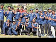 राजस्थान चैंपियन, टीम को इनाम मिला सिर्फ 15 हजार|जयपुर,Jaipur - Dainik Bhaskar