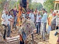 0.43 नंबर से स्कूल व्याख्याता बनने से चूका युवक घर से लापता था, आठ दिन बाद कुएं में शव मिला श्रीमाधोपुर,Shrimadhopur - Dainik Bhaskar