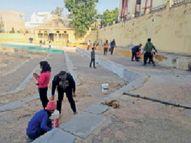 माधव सागर को किया साफ, 26 को होगा समारोह सीकर,Sikar - Dainik Bhaskar