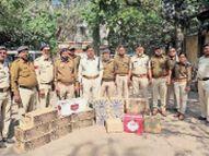खरगोन से कम दाम में लाकर ढाबे पर बेच रहा था शराब, आरोपी के घर व ढाबे से जब्त की 16 पेटी शराब|खंडवा,Khandwa - Dainik Bhaskar