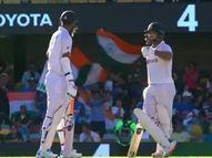 पंत ने सुंदर से कहा, तुम टिक कर खेलो मैं शॉट मारता हूं, सुंदर बोले-तुम्हारा अंत तक रहना जरूरी, मैं अटैक करता हूं|क्रिकेट,Cricket - Dainik Bhaskar