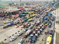 22 गांवों से 2 हजार ट्रैक्टर 26 जनवरी की परेड के लिए रवाना|जालंधर,Jalandhar - Dainik Bhaskar