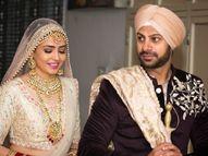 करणवीर मेहरा ने अपनी गर्लफ्रेंड निधि सेठ के साथ लिए सात फेरे, 30 मेहमानों की मौजूदगी में हुई रस्में|टीवी,TV - Dainik Bhaskar
