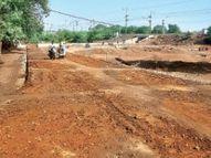 स्वरूप नगर अंडर ब्रिज ट्रैफिक के लिए फरवरी में खुलने की संभावना|गंजबासौदा,Ganjbasoda - Dainik Bhaskar