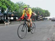 डॉक्टरों ने कहा था- जीवनभर स्टिक के सहारे चलना होगा, उस जयंत ने भोपाल से अयोध्या तक 663 किमी यात्रा साइकिल से कर डाली|भोपाल,Bhopal - Dainik Bhaskar