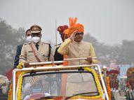 रीवा में CM ने ध्वजारोहण कर ली परेड की सलामी; कहा- सुपारी कलाकृतियां दुनिया भर में भेजेंगे, कर्मचारियों के एरियर्स का भुगतान होगा|भोपाल,Bhopal - Dainik Bhaskar
