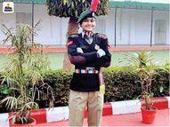 गणतंत्र दिवस की परेड में लखनऊ की खुशी श्रीवास्तव बनी एनसीसी कैडेट का हिस्सा, सशस्त्र बलों में शामिल होकर देखती हैं देश की सेवा का सपना|लाइफस्टाइल,Lifestyle - Dainik Bhaskar