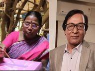 भीली चित्रकार भूरी बाई और लाेक कला विशेषज्ञ कपिल तिवारी को किया जाएगा सम्मानित|भोपाल,Bhopal - Dainik Bhaskar