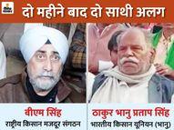 37 नेताओं पर FIR के बाद दो संगठन किसान आंदोलन से अलग; बजट के दिन होने वाला मार्च टला|देश,National - Dainik Bhaskar