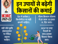 PM किसान योजना की राशि तीन गुना करने और MSP में नई फसलों को लाने का सुझाव|बिजनेस,Business - Dainik Bhaskar