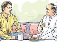 पतिदेव और मिश्राजी में ताज़ा अख़बार पाने की होड़ लगी थी, जिस रेस में मुझे दौड़ना पड़ रहा था लेकिन पड़ोसी धर्म निभाना भी तो ज़रूरी था|मधुरिमा,Madhurima - Dainik Bhaskar