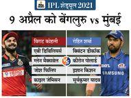 8 ऑलराउंडर्स के साथ RCB की बैटिंग लाइन-अप सबसे अटैकिंग, मुंबई के पास मजबूत बॉलिंग|क्रिकेट,Cricket - Dainik Bhaskar
