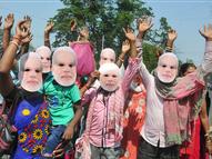 कोई हनुमान बनकर पहुंचा तो कोई शरीर पर कमल बनाकर; स्पीच से पहले 2 घंटे तक गूंजते रहे जय श्री राम के नारे|देश,National - Dainik Bhaskar