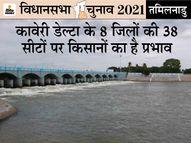 DMK कहती है कि AIADMK भाजपा के दबाव में है, वह सत्ता में आई तो कर्नाटक की BJP सरकार हमारा पानी रोक देगी|तमिलनाडु,Tamil Nadu - Dainik Bhaskar