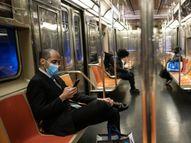न्यूयॉर्क, बीजिंग, माॅस्को सहित कई शहरों में ट्रेन यात्रियों की संख्या 80% घटी|टाइम,Time - Dainik Bhaskar