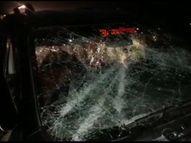 बंगाल BJP चीफ दिलीप घोष के काफिले पर हमला, गाड़ी के शीशे तोड़े; ममता की रैली से लौट रहे TMC वर्कस पर आरोप पश्चिम बंगाल,West Bengal - Dainik Bhaskar