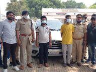 हनुमानगढ़ी के नागा साधु की हत्या मामले में दो आरोपी गिरफ्तार; संपत्ति हथियाने के लिए गुरुभाई ने की थी हत्या|लखनऊ,Lucknow - Dainik Bhaskar