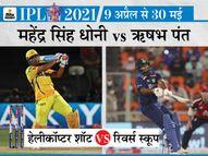 दिल्ली के नए कप्तान ने भरी हुंकार, कहा- माही भाई से जो पैंतरा सीखा है, उनके खिलाफ ही करूंगा इस्तेमाल|IPL 2021,IPL 2021 - Dainik Bhaskar