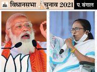 हिंदी भाषी बहुल हावड़ा में दीदी के वोट बैंक में सेंधमारी की कोशिश कर रही BJP, पर लोग कह रहे-बंगाल में दीदी, दिल्ली में दादा अच्छे पश्चिम बंगाल,West Bengal - Dainik Bhaskar