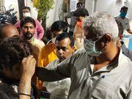 केंद्रीय मंत्री गजेंद्र सिंह शेखावत के काफिले पर हमला, गाड़ी के कांच तोड़े; TMC कार्यकर्ताओं पर आरोप पश्चिम बंगाल,West Bengal - Dainik Bhaskar