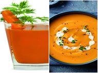 दाल और फल-सब्ज़ियों से बनाएं पौष्टिक सूप और जूस, जानिए इनकी रेसिपी|वीमेन,Women - Dainik Bhaskar