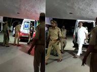 बांदा जेल जाते समय कानपुर देहात में 15 मिनट के रुका था पुलिस काफिला, 'व्हील चेयर' वाला मुख्तार अंसारी अपने पैरों पर गया था टॉयलेट|कानपुर,Kanpur - Dainik Bhaskar