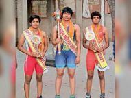 राजस्थान कुमार बने लादू ने खेतों में किया अभ्यास, केसरी कुमारी व राजस्थान बसंत का खिताब भी भीलवाड़ा काे मिला|भीलवाड़ा,Bhilwara - Dainik Bhaskar