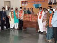 जिस इंजेक्शन की पूरे देश में शॉर्टेज, उसे BJP नेता मुफ्त बांट रहे; विपक्ष का सवाल- पार्टी ऑफिस में कैसे पहुंचा लाइफ सेविंग इंजेक्शन?|देश,National - Dainik Bhaskar