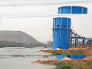 दावा अप्रैल में शुरू होगी पानी सप्लाई; हालत, 12 कॉलोनियों में नहीं डले पाइप|रायगढ़,Raigarh - Dainik Bhaskar