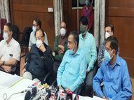 डॉक्टर्स पैनल ने कहा- फेफड़ों में 40 फीसदी संक्रमण फैलने के बाद रेमडेसिविर इंजेक्शन की जरूरत, सभी कोरोना मरीज को लगाने की आवश्यकता नहीं|इंदौर,Indore - Dainik Bhaskar