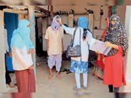 ग्राम नूरियाखेड़ी के 126 परिवार के 714 लोगों की स्क्रीनिंग की बड़वानी,Barwani - Dainik Bhaskar
