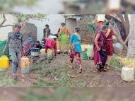 पाइप लाइन खराब होने से 250 घरों में 4 दिन से नहीं बंटा पानी बड़वानी,Barwani - Dainik Bhaskar